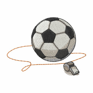 Soccer Ball with Whistle Polo Shirts
