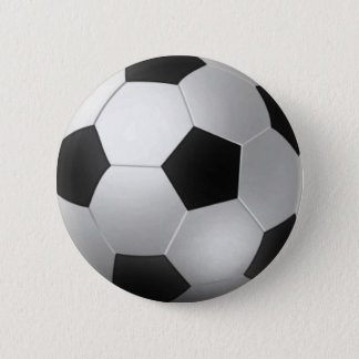 Soccer BallS 6 Cm Round Badge