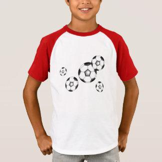 Soccer balls futbol futebol T-Shirt