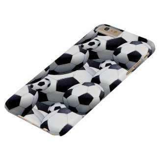 Soccer Barely There iPhone 6 Plus Case