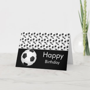 soccer birthday cards zazzle com au