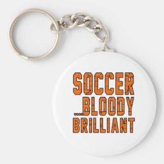 Soccer Bloody Brilliant Keychains