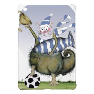 soccer blues kitty iPad mini cases