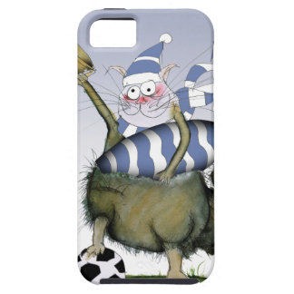 soccer blues kitty tough iPhone 5 case