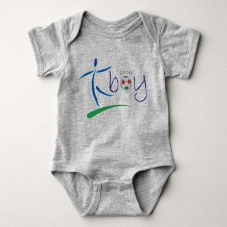 Soccer boy - baby boy soccer designs baby bodysuit