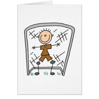 Soccer Boy Goalie Card