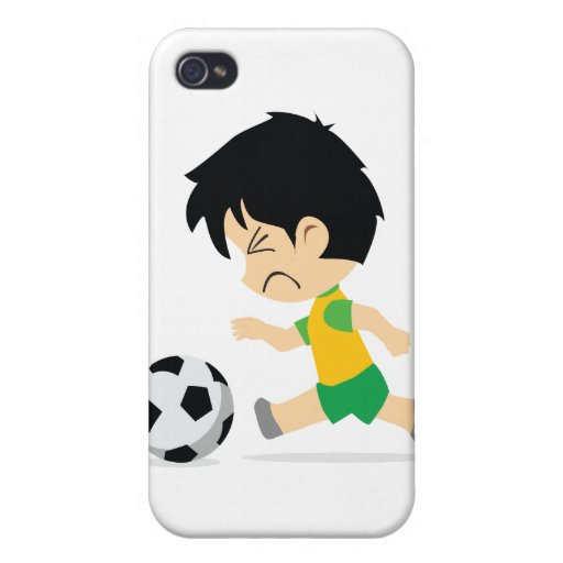 Soccer Boy Covers For iPhone 4