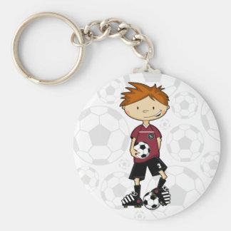 Soccer Boy Keychain