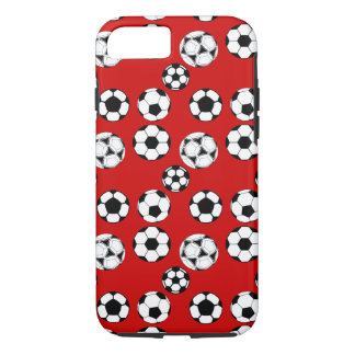 Soccer boys red iPhone 7 case
