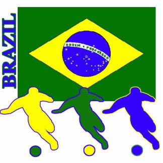 Soccer Brazil Photo Cut Out