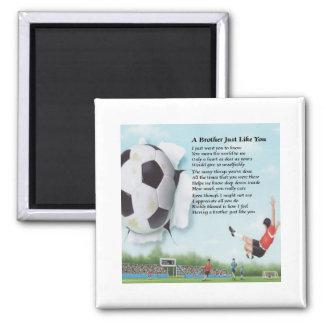 Soccer  Brother Poem Magnets