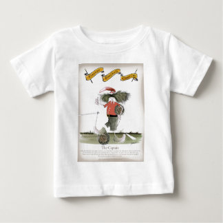 soccer captain red team baby T-Shirt