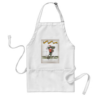 soccer captain red team standard apron