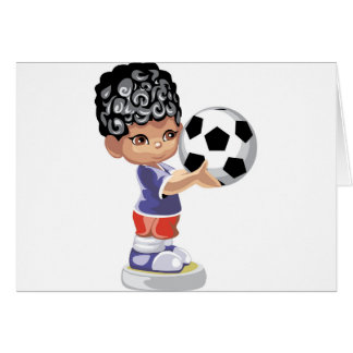 Soccer Champion Greeting Cards