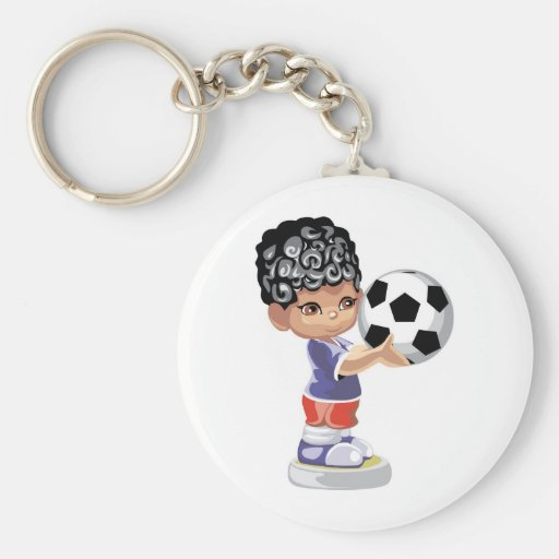 Soccer Champion Key Chains