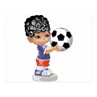 Soccer Champion Postcard