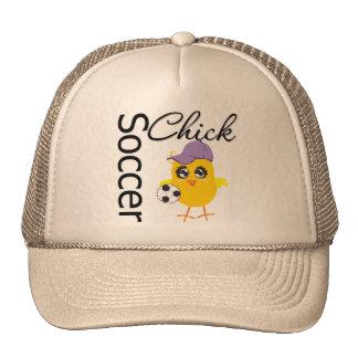 Soccer Chick v2 Cap