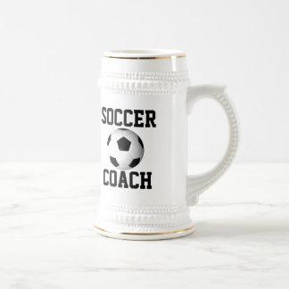 Soccer Coach Beer Stein