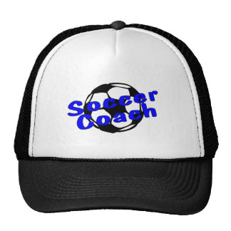 Soccer Coach (Blue) Cap