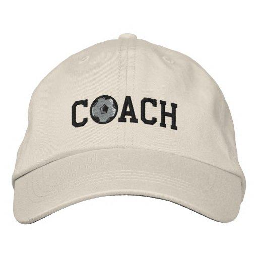 Soccer Coach Cap Embroidered Baseball Cap