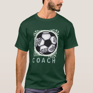 Soccer Coach Design T-shirt