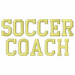 SOCCER COACH EMBROIDERED TRACK JACKETS