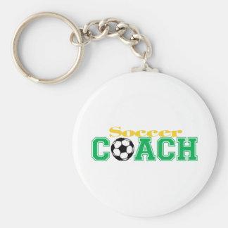 Soccer Coach Key Ring