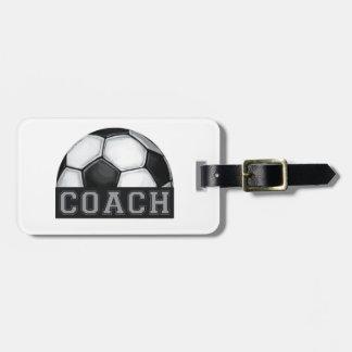 Soccer Coach Luggage Tag