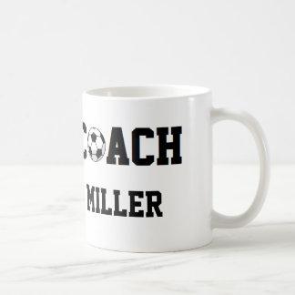 Soccer Coach Personalized Coffee Mug