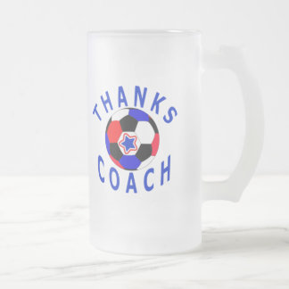 Soccer Coach Thank You Gift Frosted Glass Drink Mu Frosted Glass Mug