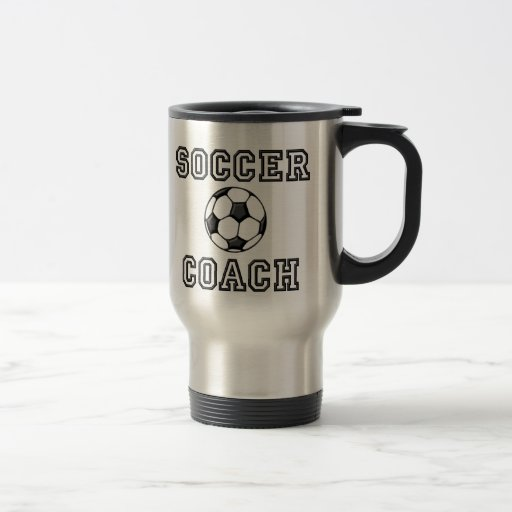 Soccer Coach travel mug