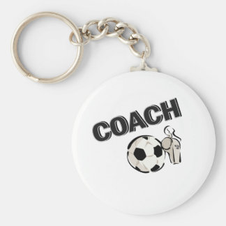 Soccer Coach (Whistle/Ball) Key Ring