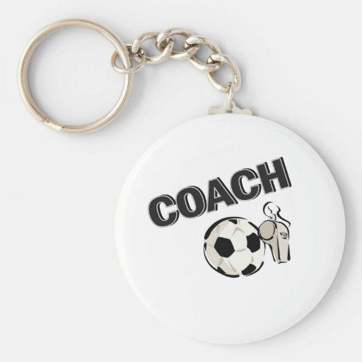 Soccer Coach (Whistle/Ball) Keychains