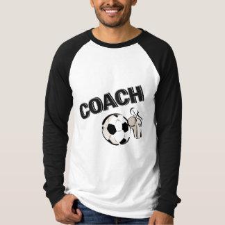 Soccer Coach (Whistle/Ball) T-Shirt