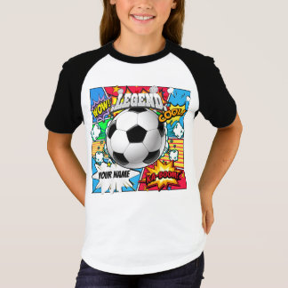 Soccer Comic Book T-Shirt