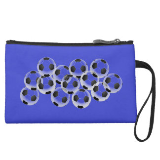 #soccer crazy sueded mini clutch