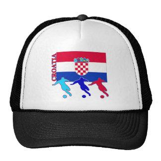 Soccer Croatia Trucker Hats