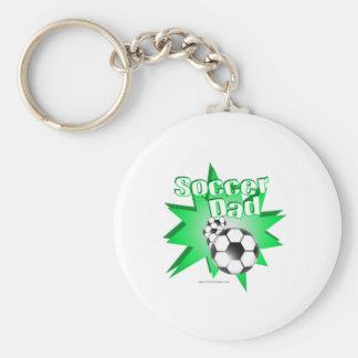 Soccer Dad Key Ring