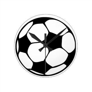 soccer dad round clock