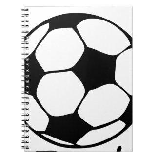 soccer dad spiral notebook