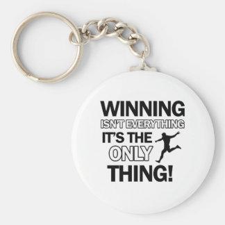 soccer design key chain