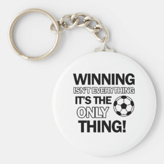 soccer design keychains