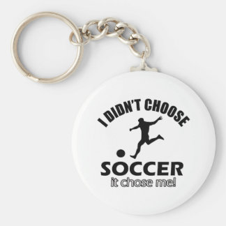 soccer Designs Key Chains