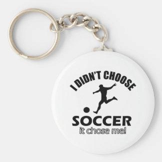 soccer Designs Key Chains