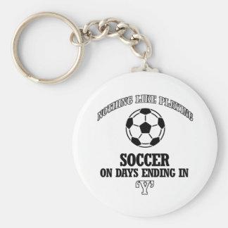 soccer designs keychain