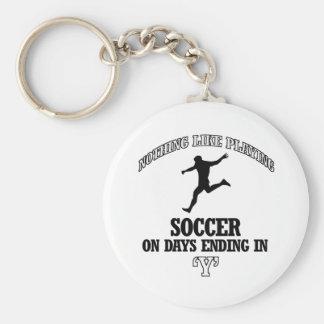 soccer designs keychains