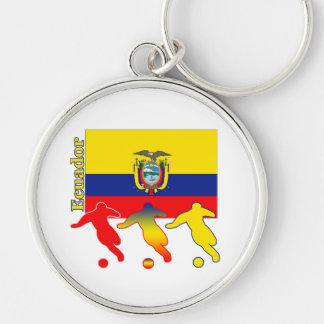 Soccer Ecuador Key Chain