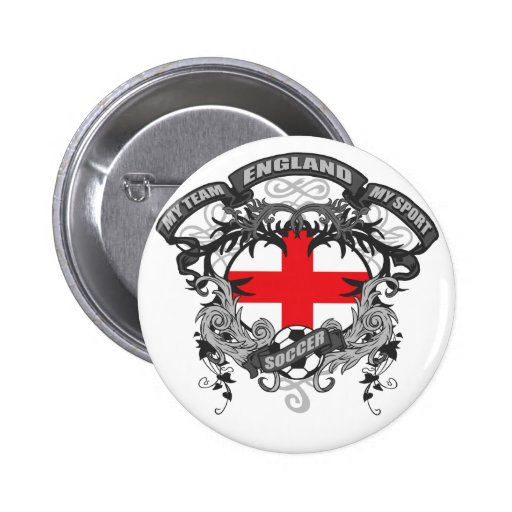 Soccer England Buttons