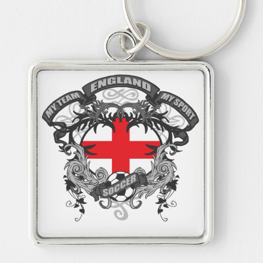 Soccer England Keychains