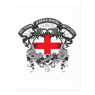 Soccer England Postcard